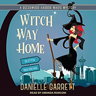 Witch Way Home     Beechwood Harbor Magic Mysteries Series, Book 4               Written by:                                                                                                                                 Danielle Garrett                               Narrated by:                                                                                                                                 Amanda Ronconi                      Length: 6 hrs and 6 mins     Not rated yet     Overall 0.0
