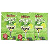 Baja Bob's Original Margarita Mix Party 60g Powdered Packet | Simply Mix with 1/2 gallon of Water | Sugar Free Cocktail Mixer | Keto Friendly | Low Calorie | Low Carb (Value: 3-pack. Save Money)