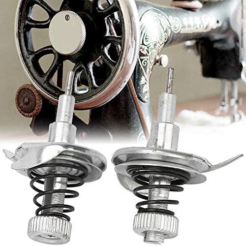 Cikonielf 2 piezas de ajuste de rosca de repuesto para máquina de coser, grupo de herramientas de costura, pieza para máquina de coser doméstica antigua Trittart
