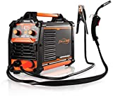 MIG Welder 160Amp Flux Core Welding Machine No Gas 110V Wire Automatic Feed Easy Welding for welder Beginners IGBT DC Inverter Welder Gasless