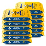 WipesPlus Disinfecting Wipes Bulk (720 Total Wipes) - 12 Packs of Sanitizing Wipes - 60 Disinfectant Wipes per Pack - Made in the USA
