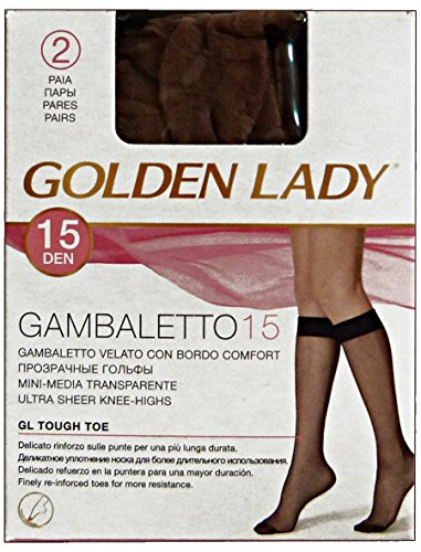Glooke Selected Lot 20 Gambaletto 15 DEN Melon * 2 Paires 1 C
