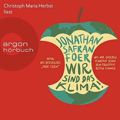 Buchseite und Rezensionen zu 'Wir sind das Klima!' von  Jonathan Safran Foer