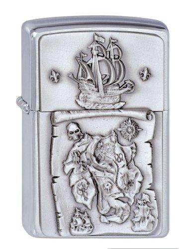 Zippo Zippo 1300150 Nr. 200 Treasure Map Emblem