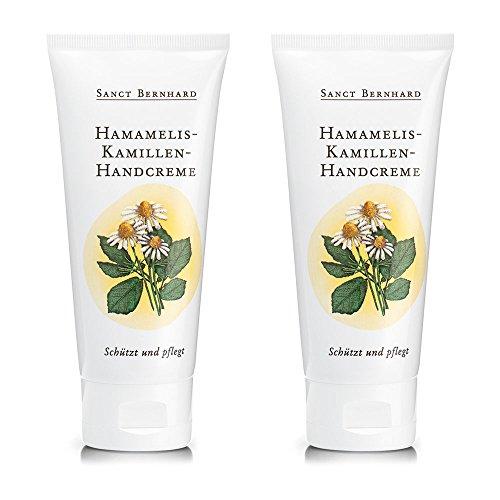 Sanct Bernhard Hamamelis-Kamillen-Creme mit Hamamelis-Extrakt 2 x 100 ml