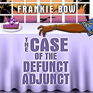 The Case of the Defunct Adjunct     The Molly Barda Mysteries, Book 0              By:                                                                                                                                 Frankie Bow                               Narrated by:                                                                                                                                 Nicole Gose                      Length: 6 hrs and 23 mins     19 ratings     Overall 3.9