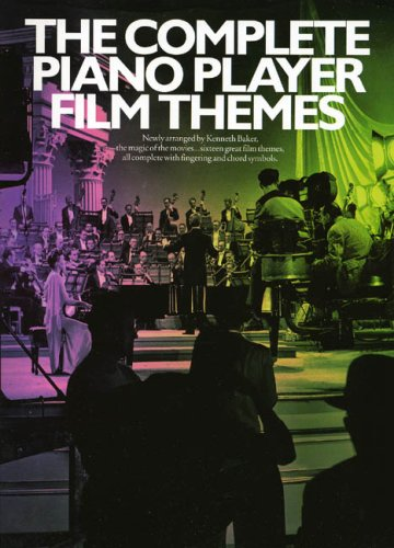 The Complete Piano Player Film Themes Pvg (Music)