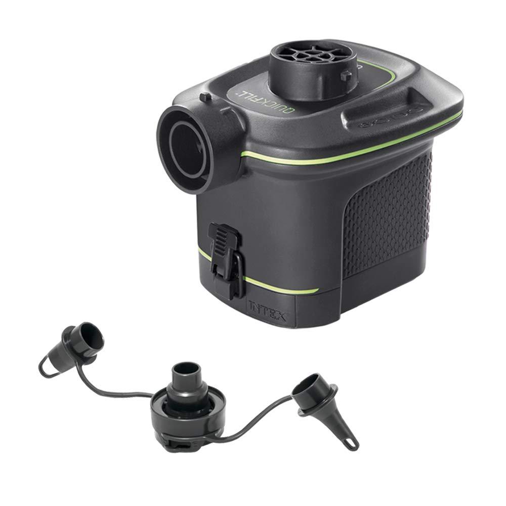 Intex 66638 - Hinchador eléctrico a pilas: Amazon.es: Jardín
