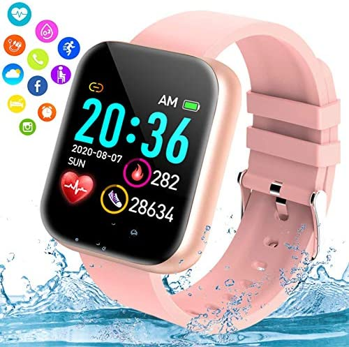 Burxoe Smart Watch Bluetooth Smartwatch for Android Phones Ip67 Waterproof Fitness Watch with product image