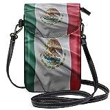 Bandolera de la Bandera de México para teléfono móvil, Cartera con Ranuras para Tarjetas de crédito para Mujeres