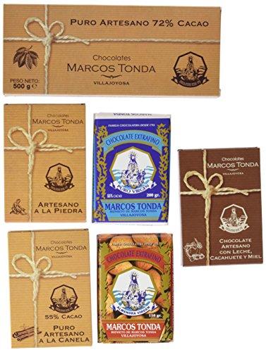 Chocolates Marcos Tonda Estuche Regalo Selección de Chocola