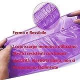 Zoom IMG-1 100 pezzi copriscarpe in plastica
