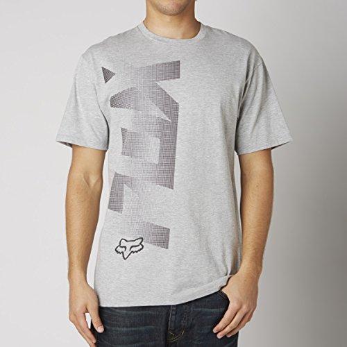 Fox Herren Puffer Kurzarm T-Shirt Heather Grey, L