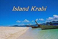 大人のためのジグソーパズルタイ島クラビパズル1000ピース木製旅行のお土産