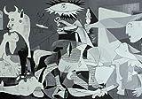 Guernica Pablo Picasso Kunstdruck Poster 12084 (A3-A4-A5) -