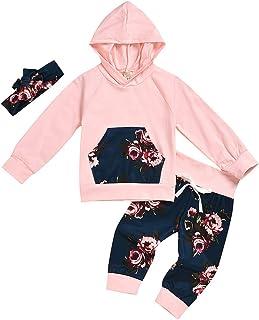 Trousers Hoodies Sportswear Outfits Set DressLksnf Kids Baby Girls Tracksuits Leopard Print Hoodie Sweatshirt Tops