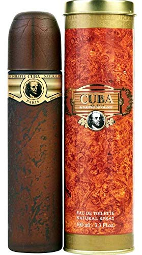Cuba Gold Eau De Toilette Natural Spray Original for Men 100ml by Cuba Gold by Cuba
