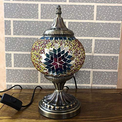 Estilo marroquí de la lámpara de la cabecera turca de la lámpara de mesa, mesa de comedor Bar Cafe Hotel Decoración regalo lámpara de mesa