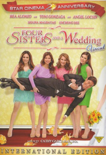 Four Sisters and a Wedding Filipino DVD