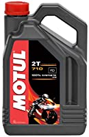 MOTUL(モチュール) 710 2T バイク用エンジンオイル 100%化学合成(エステル) 4L [並行輸入品]