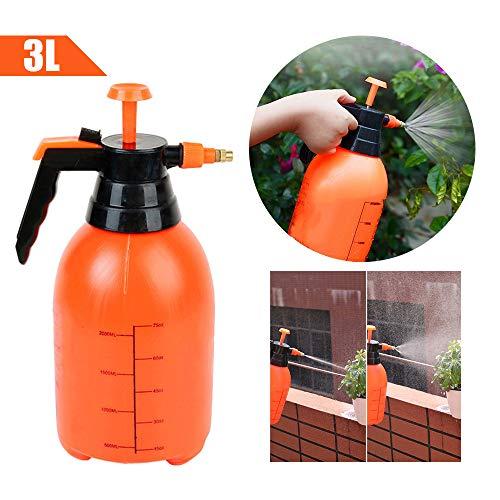 IMAGINE Druk Tuinsproeier Voor Water Geven, Bloemen, Hangmanden, Planten, Herbiciden, Insecticiden 3L oranje