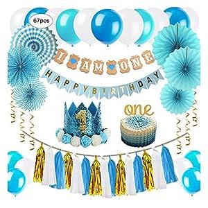MIFIRE Decoración de Tiburón para Fiestas de cumpleaños, 1 ...
