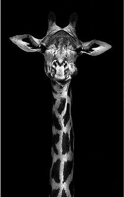 Artzfolio Gondola Unframed Premium Canvas Painting 16 X 20Inch+Thornycroft Giraffe Unframed Premium Canvas Painting 20 X 31.9Inch