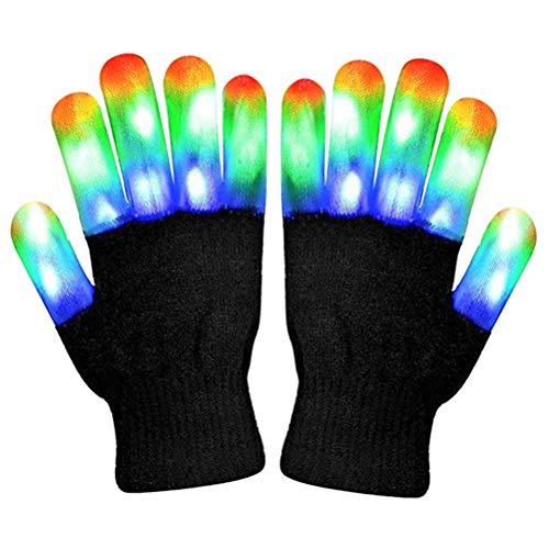 Handschuhe LED blinkende