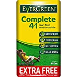 2 X 400sqm Complete 4-in-1 Lawn Care, Lawn Food, Weed and Moss Killer Bag