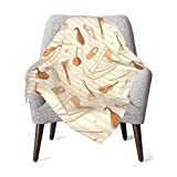Music Guitar Baby Blanket,Comfy Soft Newborn Breathable Receiving Blanket Skin-Friendly Swaddling Blankets Durable Toddler Sheets Thick Shower Gifts for Crib Outdoor