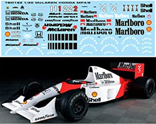 1//12 McLaren MP4//2 MP4//2B MP4//2C 1986 Prost Roseberg decals Decal TBD283