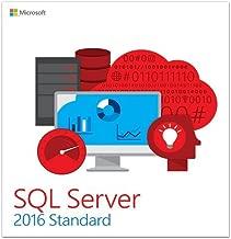 Microsoft SQL Server 2016 Standard Edition - 10 Client, 1 Server