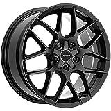 Motiv 435B 17x7.5 5x100/5x4.5' +40mm Gloss Black Wheel Rim 17' Inch