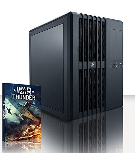 VIBOX Legend 24 PC Gaming Computer con Voucher di Gioco, Windows 10 OS (4,5GHz Intel i9 10-Core, 2x Dual SLI Nvidia GeForce GTX 1080 Ti Schede Grafiche, 32GB DDR4 RAM, 500GB SSD, 3TB HDD)