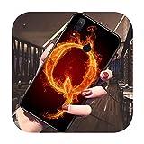 Flame Fire Coque de protection pour Xiaomi mi 6 8 Lite 9 Pro 9 SE F1 A1 A2 Lite A3 Pro A3 Lite 9T...