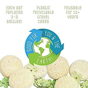Sweet & Sassy 3 Conditioner Bars. Made in the USA. All Natural, Organic, SLS Free, Plastic Free, Safe for Color Treated…