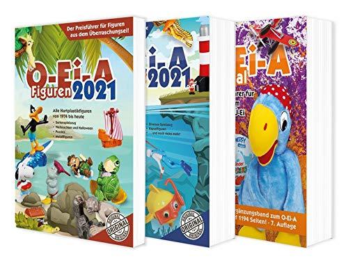 Das O-Ei-A 3er Bundle 2021 - O-Ei-A Figuren, O-Ei-A Spielzeug und O-Ei-A Spezial im 3er-Pack mit rund 9,00 € Preisvorteil gegenüber Einzelkauf!