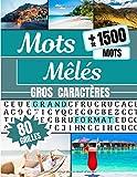 Mots Mêlés: Gros Caractères | Carnet de Mots Cachés - Adultes | 80...