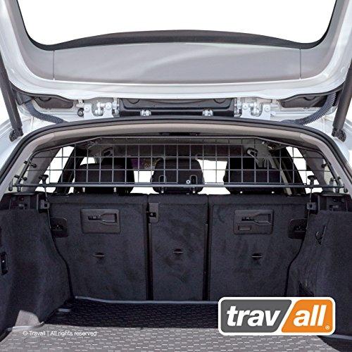 Travall Guard Hundegitter Kompatibel Mit den BMW 3er Touring F31 (2012-2018) TDG1410 - Maßgeschneidertes Trenngitter in Original Qualität