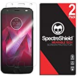 [2-Pack] Spectre Shield Screen Protector for Moto Z2 Force Case Friendly Moto Z2 Force Screen Protector Accessory TPU Clear Film