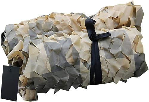 CHAOXIANG Filet De Camouflage Filet D'ombrage Crème Solaire Jungle Plus épais Résistant à l'usure Tissu Oxford Multi-Taille, Personnalisable (Couleur   A, Taille   6x10m)