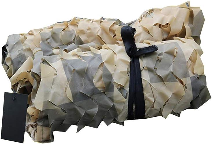CHAOXIANG Filet De Camouflage Filet D'ombrage Crème Solaire Jungle Plus épais Résistant à l'usure Tissu Oxford Multi-Taille, Personnalisable (Couleur   A, Taille   8x10m)