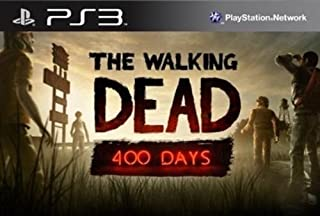 The Walking Dead: 400 Days DLC - PS3 [Digital Code] (B00GGU5GNO) | Amazon price tracker / tracking, Amazon price history charts, Amazon price watches, Amazon price drop alerts