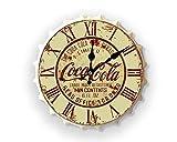 Weird Or Wonderful Gran 30 cm botella superior reloj Coca Cola Coca Cola Publicidad Refresco Pepsi Fizzy Vintage Retro Mancave Hombre Cueva Café Cocina Pub Bar Regalo