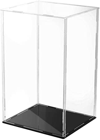 Clear Model Display Box Case Protection Showcase for Collectibles Cars 18cm