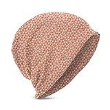 Mamihong Motivo a Cerchi deformati Ispirato a Pois in Colori Pastello, Vari Stili di Cappellino in Maglia per Teenager Unisex