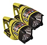 Ryobi P704 (Two Pack) 18-Volt One Plus Lithium Ion Work Light (Battery and Charger Not Included)