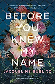 Before You Knew My Name by [Jacqueline Bublitz]