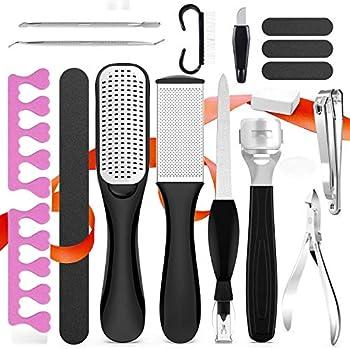 Fotwen 18 in 1 Foot Care Pedicure Tools Kit