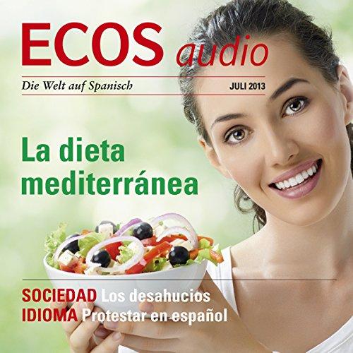ECOS audio - La dieta mediterránea. 7/2013 Titelbild
